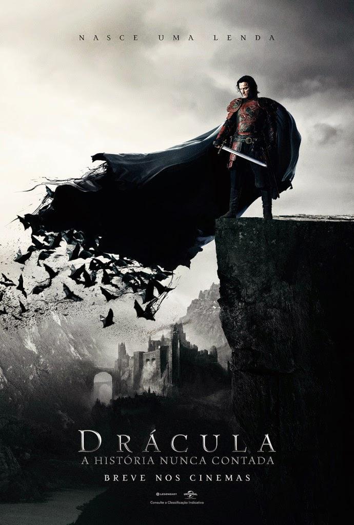 imagem do cartaz do filme Dracula a história nunca contada