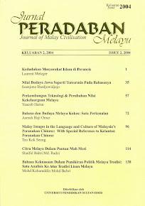 Jurnal Peradaban Melayu keluaran II, 2004