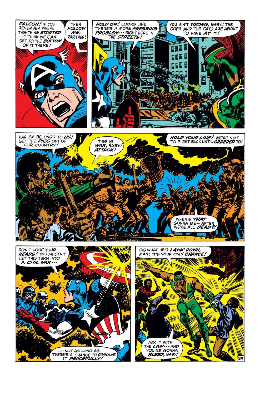 Captain America (1968) Issue #143 #57 - English 25