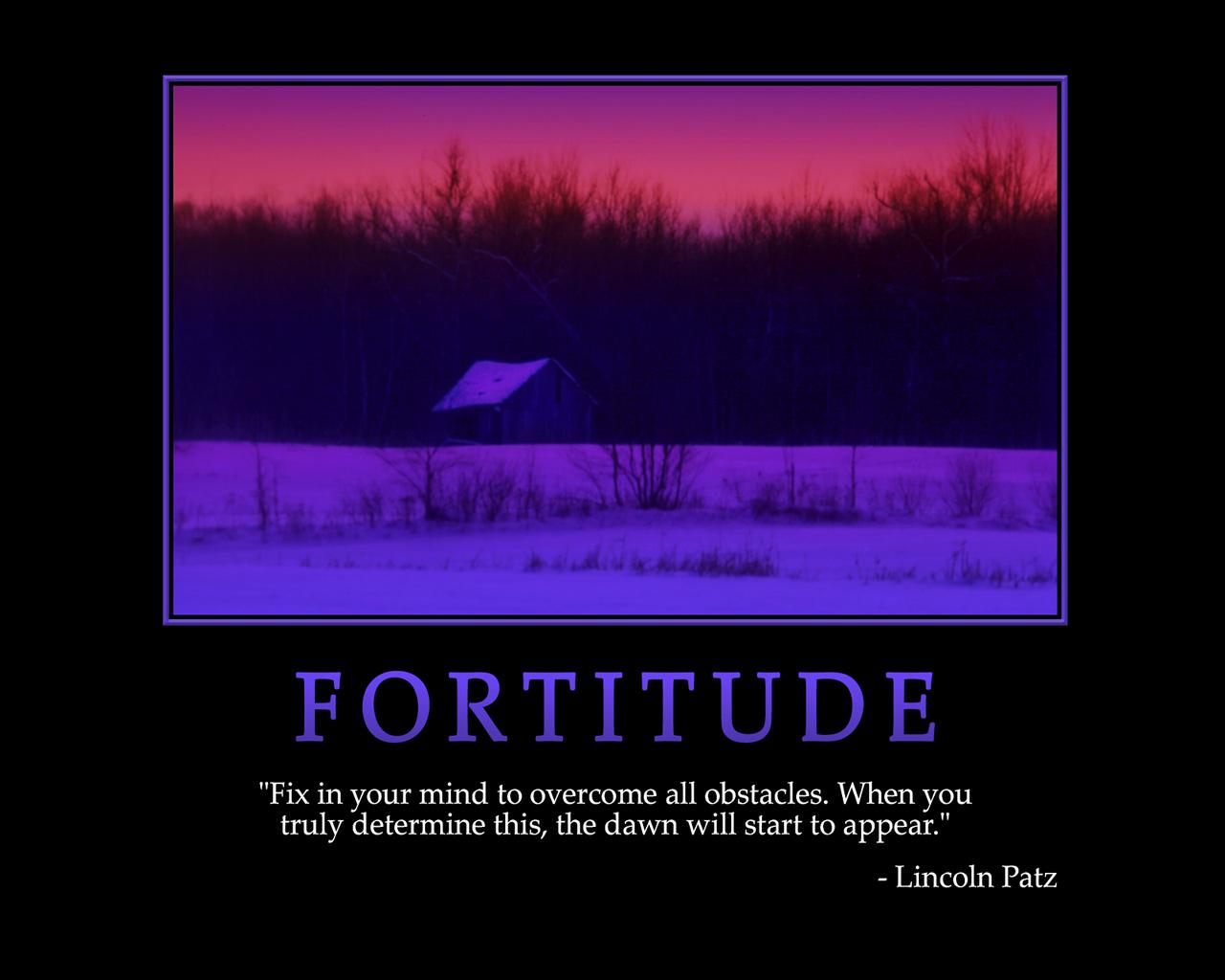 Fortitude Quotes Inspirational Quotesgram