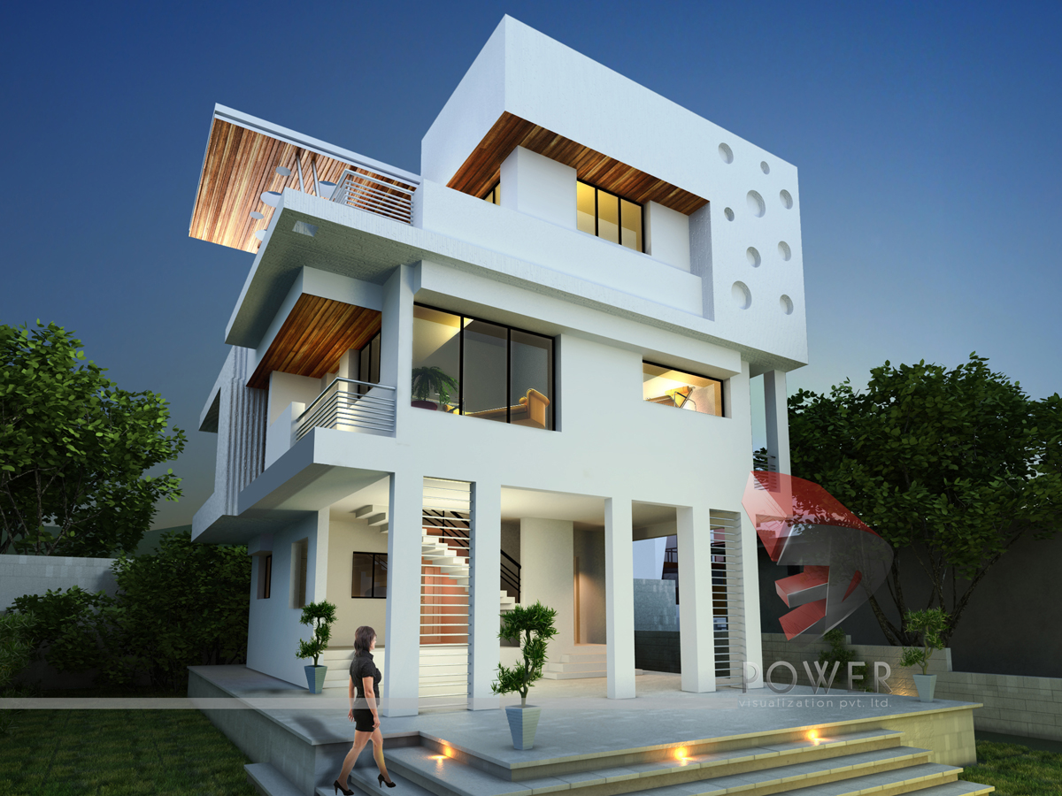 Ultra modern home designs home designs 20 bungalow designs for Ultra contemporary homes