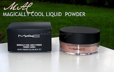 MAC Honey Rose Magically Cool Liquid Powder review