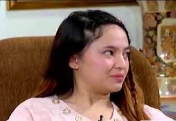 Foto Marshanda saat diwawancarai Metro
