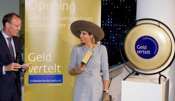 Queen Maxima Opens Renovated 'Lieve Heer Op Solder Museum'