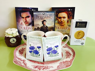 Poldark blog tour prizes