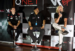 QNet - Virgin Racing : Partnership Press Conference Launch in Abu Dhabi United Arab Emirates