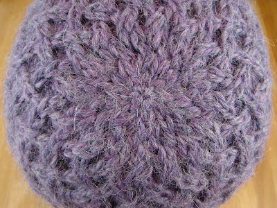 hat, lattice, baby alpaca, yarn, purple, beanie, knit, knitting, cables