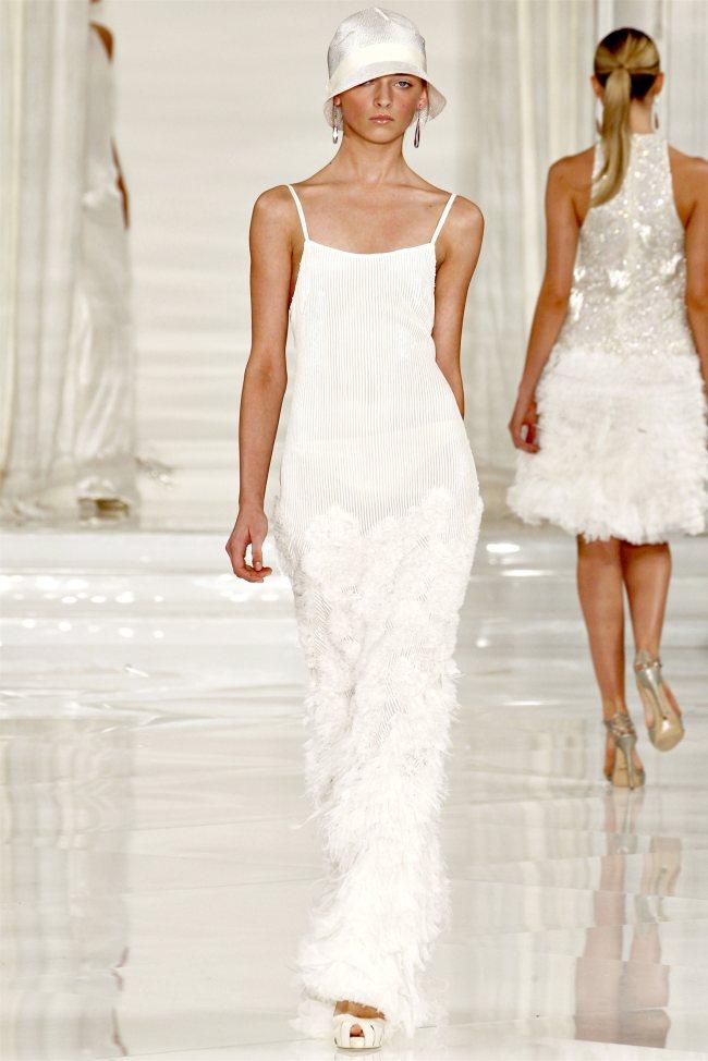 Beach Wedding Dresses Ralph Lauren Spring 2012