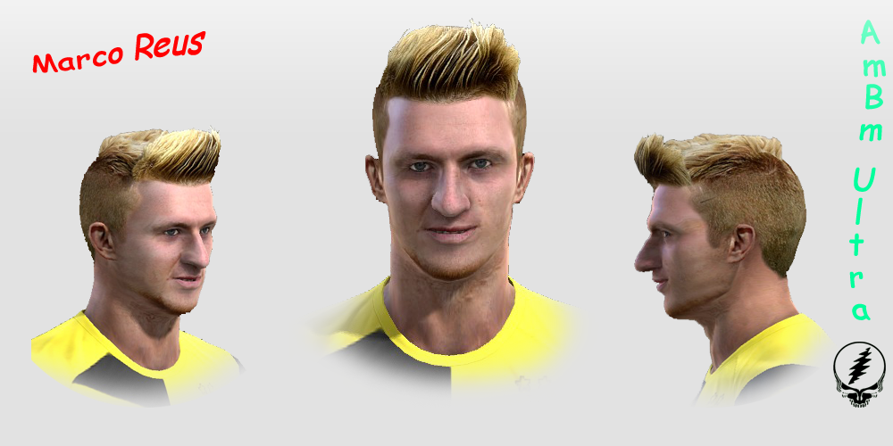 PES 2013 New Marco Reus Face By AmBm ultra