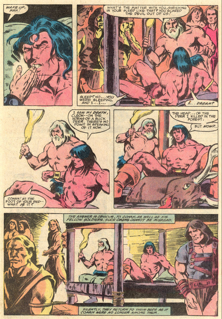 Conan the Barbarian (1970) Issue #135 #147 - English 11