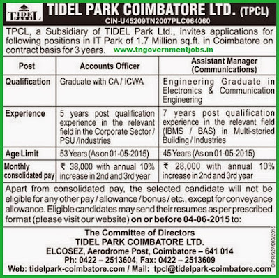 Tidel Park [www.tngovernmentjobs.in]