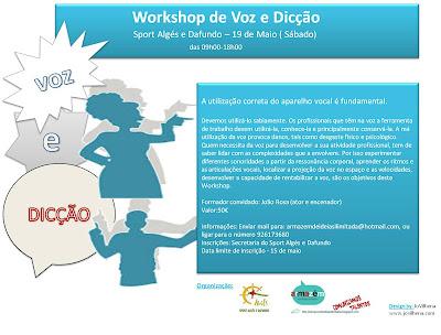Workshop Voz e Dicção - Sport Algés e Dafundo