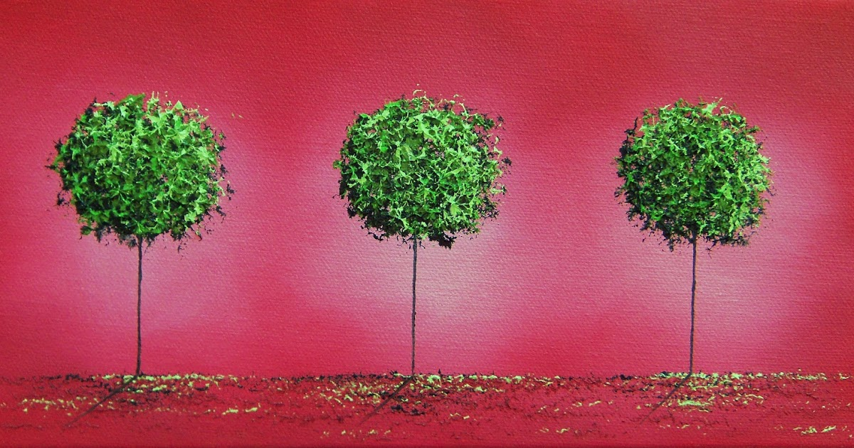 Bing Art By Rachel Bingaman Landscape Painting Wall Art Green Tree