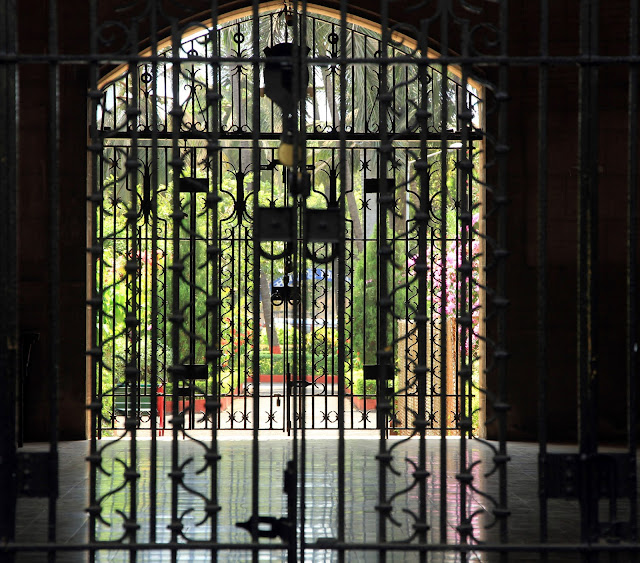 gates, wrought iron, mumbai, gated garden, gothic