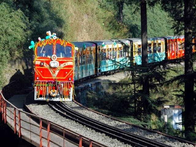 Image result for Shimla toy Train 640x336