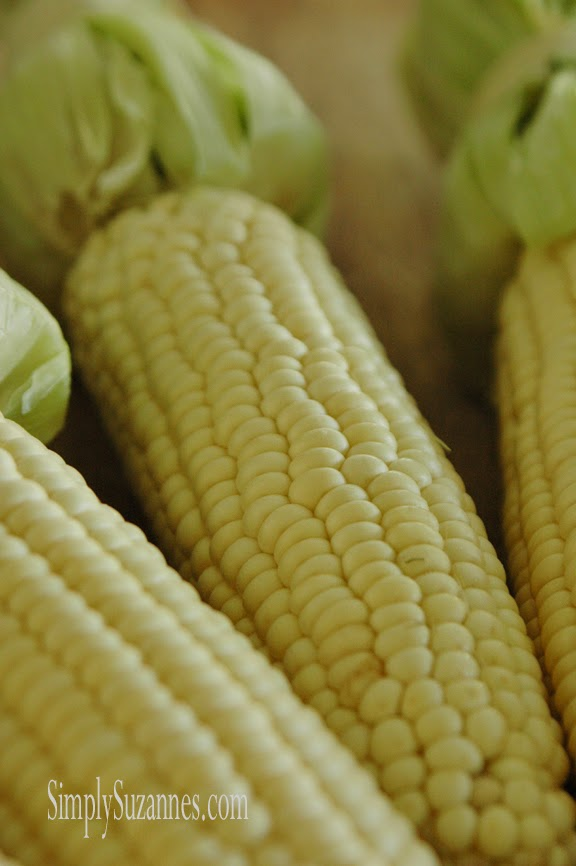 Simply Suzanne's AT HOME: chili-lime corn on the cob