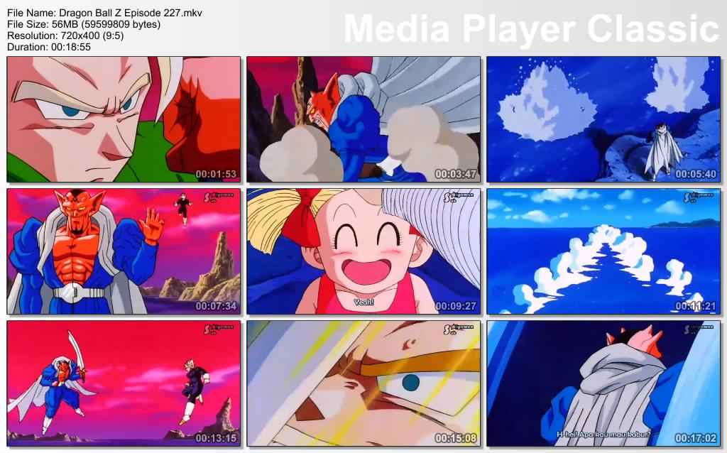 Download Film / Anime Dragon Ball Z Majin Buu Saga Episode 227 Bahasa