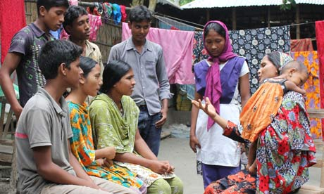 Young campaigners in north Bangladesh are making headway in their battle to end the cycle of poverty caused by early marriage