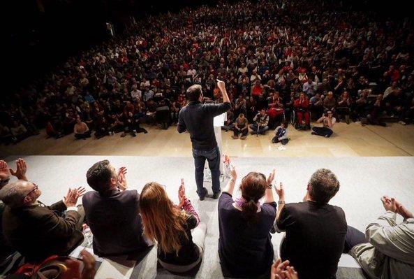 Alberto Garzón llena el Palacio de Ferias y Congresos de Málaga
