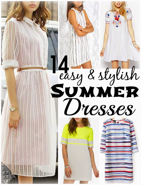 14 easy and stylish budget friendly summer dresses || Funky Jungle, #fashion & personal #style blog