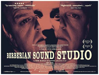 El cartel de Berberian Sound Studio