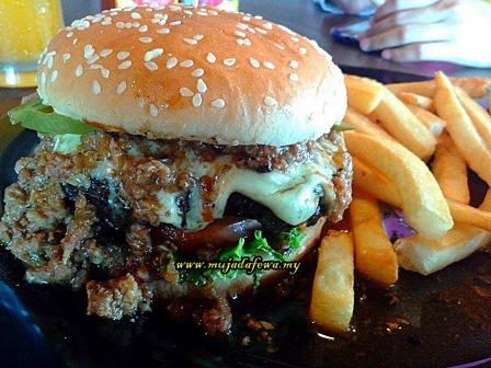 burgerbyte, makan di burgerbyte, burger sedap, burger kelantan