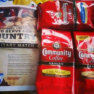 community coffee pack