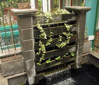 filter kolam koi dengan bakki shower