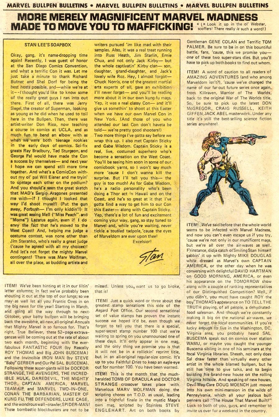Conan the Barbarian (1970) Issue #62 #74 - English 19