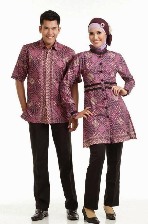 Model Baju Batik Couple Lengan Panjang Wanita