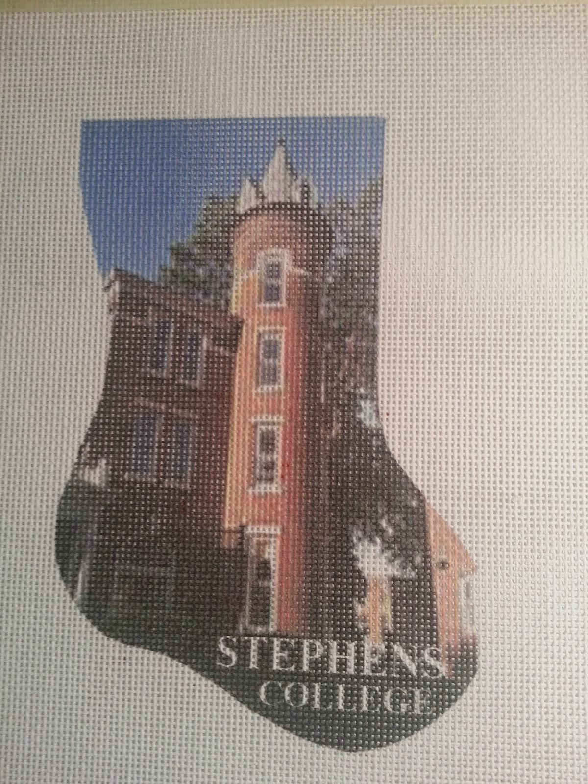Stephens College mini-stocking