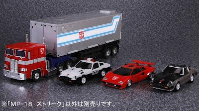 Tomy Takara Transformers Masterpiece MP-19 Bluestreak & MP-17 Prowl