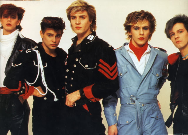 Duran Duran in the early '80s