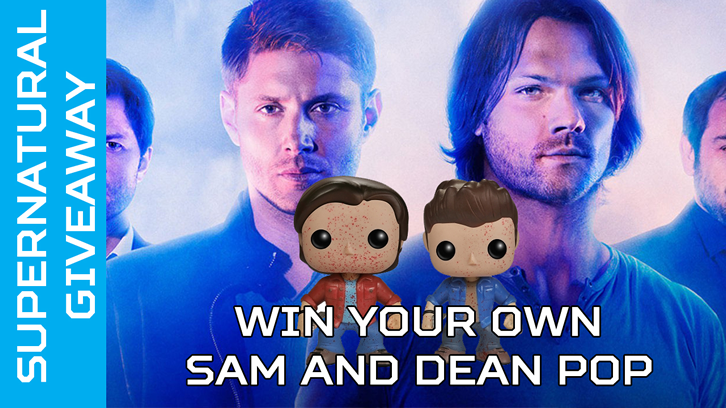 COMPLETED: Enter our free Supernatural Pop Figure Giveaway