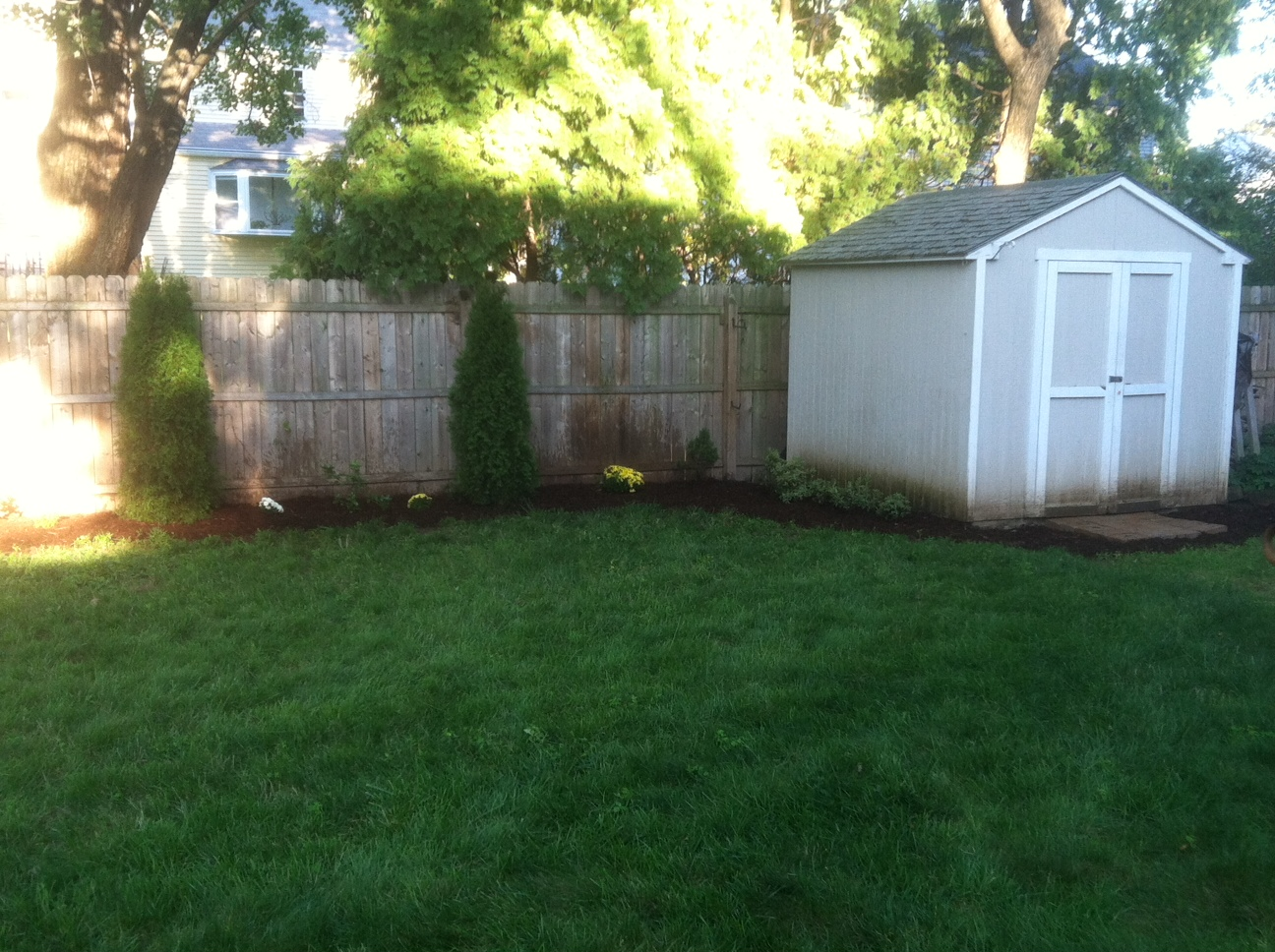 The Room Stylist Our Backyard Landscaping Update