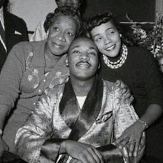 Dr.King, Mother and Wife