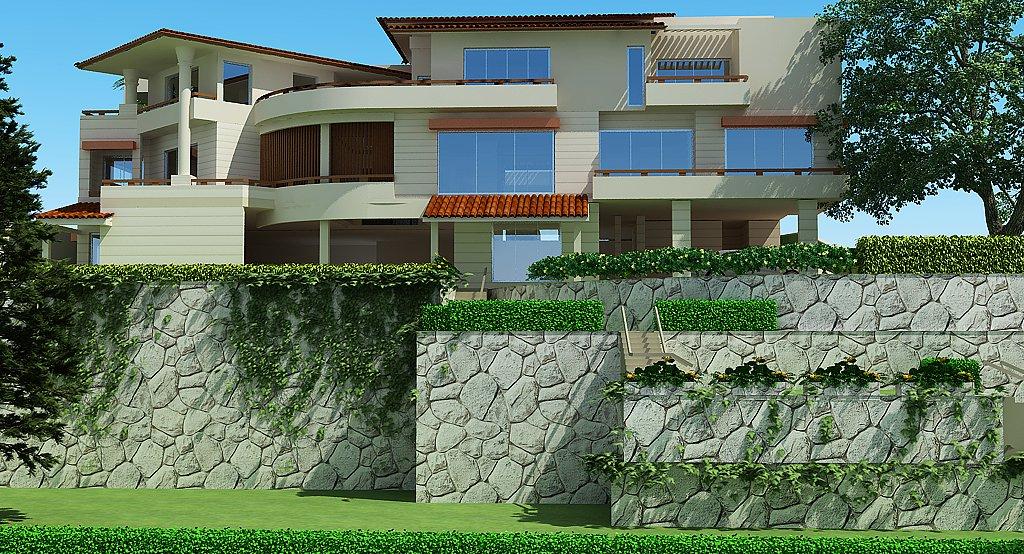 Pakistan 3d Front elevation House Design House Plans,3D Model HOUSE ...