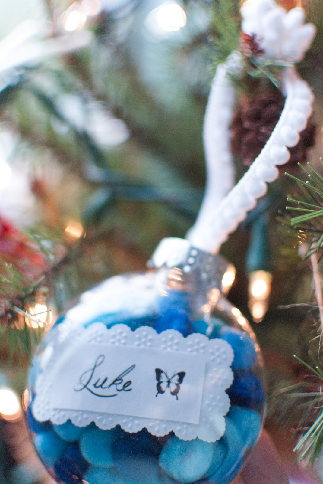 Baby loss ornaments - This Baby S First Christmas Ornament Is One I Got For Myself I Got It In Honor Of Both My Babies Because Really They Shared The Same First Christmas