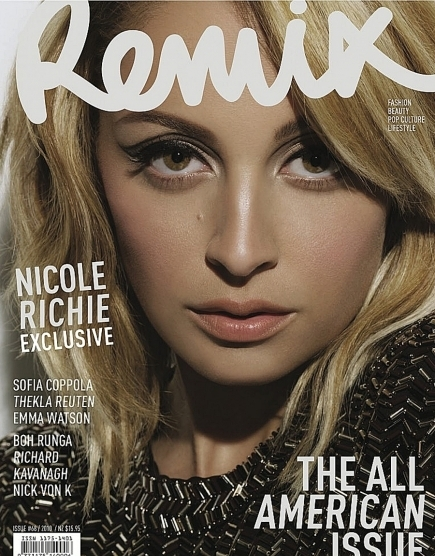 nicole richie nose job. Nicole Richie is the cover