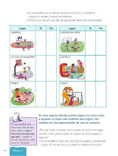 Apoyo Primaria Formación Cívica y Ética 1er Grado Bloque 4 Lección 3 Los derechos de los niños
