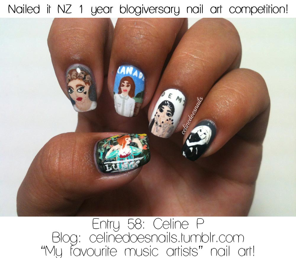 Announcing The Winners Of My Nail Art Competition And Giveaway