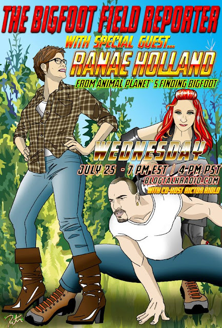 Ranae Holland Finding Bigfoot