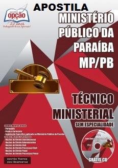 Apostila MP/PB 2015 Técnico Ministerial Sem Especialidade