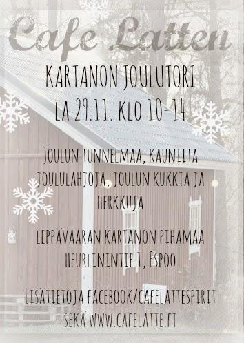 Tervetuloa Kartanon Joulutorille!