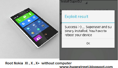 How To Root Nokia X , X+ , XL Without Computer
