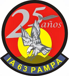 25 AÑOS del Escuadrón IA -63 PAMPA