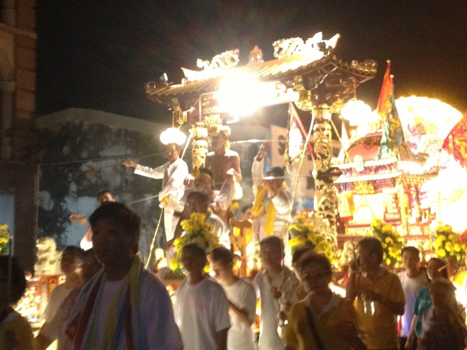 Penang Private Tour Guide Nine Emperor Gods Celebration In Penang
