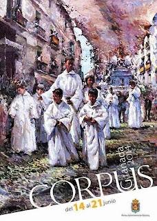Granada - Feria del Corpus 2014 - Cartel de Fernando González