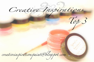 Top 3 at Creative inspirations