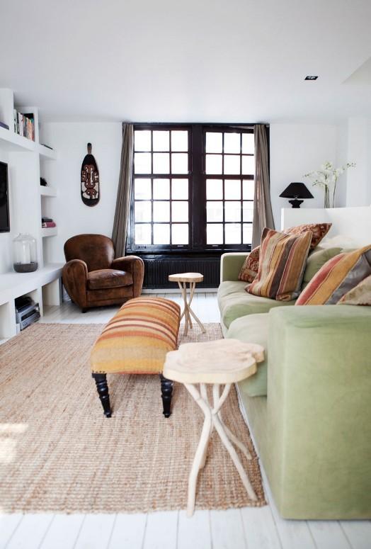 casa de estilo boho chic en Ámsterdam